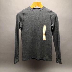 NWOT Urban Pipeline Long Sleeve Shirt Gray Sz Med